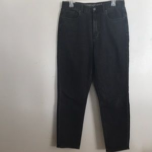 2/50$ grey American eagle mom jeans